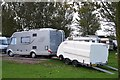 SD3434 : Hymer and a Half, Marton Mere Holiday Village by Terry Robinson