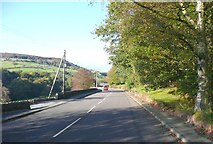 SE0024 : Cragg Road B6138, Mytholmroyd by Humphrey Bolton
