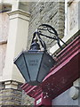 SE0325 : Coach and Horses, Luddenden Foot, Lamp by Alexander P Kapp
