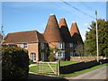 TQ5424 : The Oast House & The Roundels, Dog Kennel Lane, Hadlow Down, East Sussex by Oast House Archive