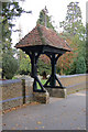 TQ1078 : Lych gate, St Dunstan's Church, Cranford Park by Andrew Hackney