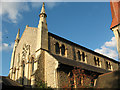 TQ3475 : St John's church, East Dulwich: west end by Stephen Craven