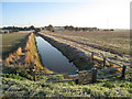TQ8026 : Drainage Ditch near Ewhurst Green : Week 42