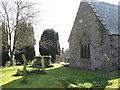 SW7827 : Mawnan churchyard by Ulrich Hartmann