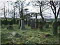 SE0733 : St Paul's Church, Denholme, Graveyard by Alexander P Kapp