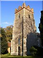 TM2653 : St. Andrew's Church Tower, Bredfield by Adrian Cable