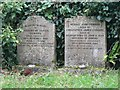 ST9924 : Ebbesbourne Wake: poignant gravestones by Chris Downer