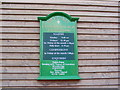 TM2863 : St.Clare's Catholic Church Notice Board by Adrian Cable