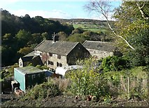 SE0024 : Higher Clough Foot, Cragg Road B6138, Mytholmroyd by Humphrey Bolton