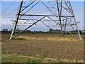 TL1854 : Pylon in a field by Andrew Tatlow