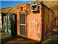 NK0935 : Port Erroll: harbour side store sheds : Week 47
