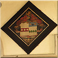 TL5460 : Hatchment of Rev. George Leonard Jenyns (1848) by Keith Edkins