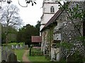 SU8084 : Church of St Peter and St Paul, Medmenham by Simon Mortimer