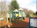 SJ7661 : Play area in Sandbach Park by Stephen Craven
