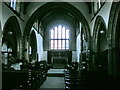 SD9126 : St Michael and All Angels, The Parish Church of Cornholme, Interior by Alexander P Kapp