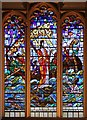 TQ3381 : St Katharine Cree, Leadenhall Street, London EC3 - Window by John Salmon