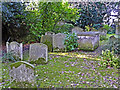 TQ2993 : Graveyard, Christ Church, London N14 by Christine Matthews