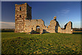 SU0210 : Knowlton Church and Earthworks by Mike Searle