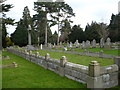 TR0260 : Mass grave of some of the men killed in the explosion at the gunpowder works in Uplees in 1916 by pam fray