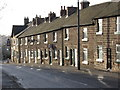 SK3548 : Belper - terrace on Chesterfield Road by Dave Bevis