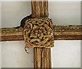 SX3173 : St Mellor Church, Linkinhorne South Porch by Judith Bennett