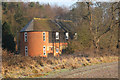 TQ4353 : Lodges Wood Oast, Goodley Stock Road, Westerham, Kent by Oast House Archive
