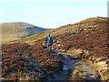 SO0820 : Footpath on Twyn Du by Jonathan Billinger