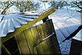 SJ3301 : Door of  a derelict barn : Week 1 winner