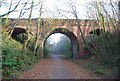 SY0482 : Castle Lane Bridge over Cycleway 2 by N Chadwick