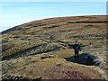 SO0520 : Footpaths meet at Bwlch y Ddwyallt by Jonathan Billinger