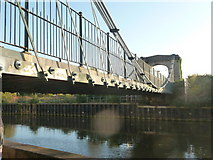 ST7465 : Bath : Victorian Bridge over the River Avon by Lewis Clarke