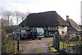 TQ8942 : Wealden Hall House at Crowbridge Cottage, Romden Road, Smarden, Kent by Oast House Archive