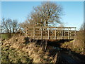 TL1281 : Bridleway Bridge Near Little Gidding by Michael Trolove