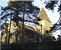 TQ4053 : St Peter's Church, Limpsfield, Surrey by Christine Matthews