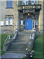 SE0719 : Stainland Community Hall, Entrance by Alexander P Kapp