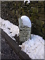 SD9123 : Milestone, Bacup Road by robert wade