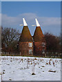 TQ8140 : Street Farm Oast, The Street, Frittenden, Kent by Oast House Archive
