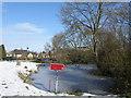 TL1489 : Village pond, Folksworth by Michael Trolove