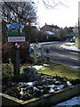 TL1490 : Village sign, Folksworth by Michael Trolove