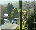 ST6359 : 2009 : Clutton Hill from the top by Maurice Pullin