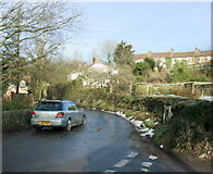 ST6259 : 2009 : At the bottom of Clutton Hill by Maurice Pullin