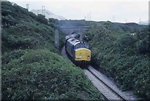 SW9555 : Passenger charter on the freight line by roger geach