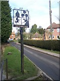 TQ6360 : Trottiscliffe Village Sign by David Anstiss