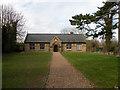 TL5664 : Swaffham Prior Village Hall by Keith Edkins