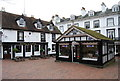 TQ5838 : Information Centre & Duke of York, The Pantiles by N Chadwick