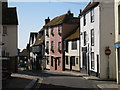 TQ8209 : Houses on All Saints' Street, Hastings, East Sussex by Oast House Archive