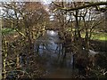 SE2702 : The River Don at Oxspring by Steve  Fareham