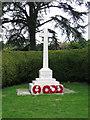 SP8812 : Buckland War Memorial by Chris Reynolds
