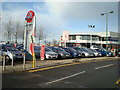 TQ5878 : Car Dealer, Lakeside Thurrock by Stacey Harris