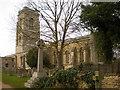 TL0893 : All Saints Church, Elton by Alexander P Kapp
